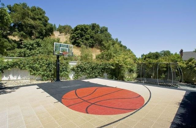 Basketball Court Graphics