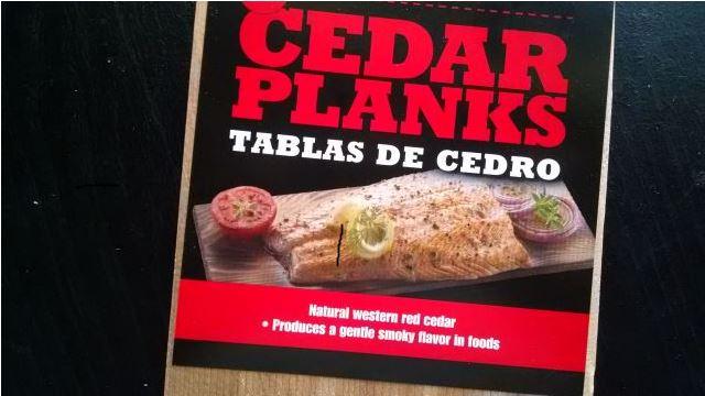 Cedar Planks new