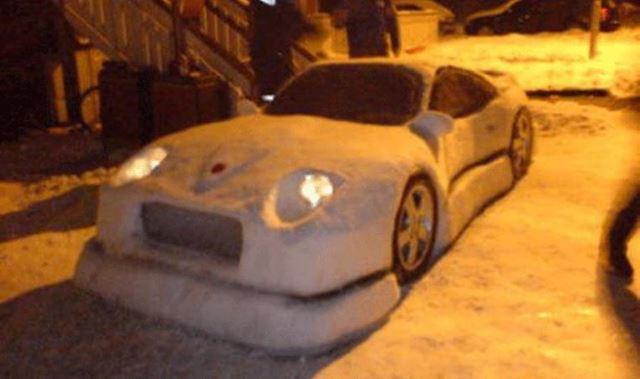 Luxury Snow Car