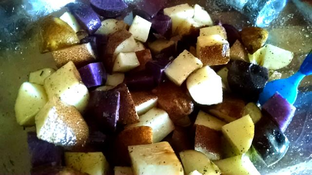 Prep and Season Potatoes