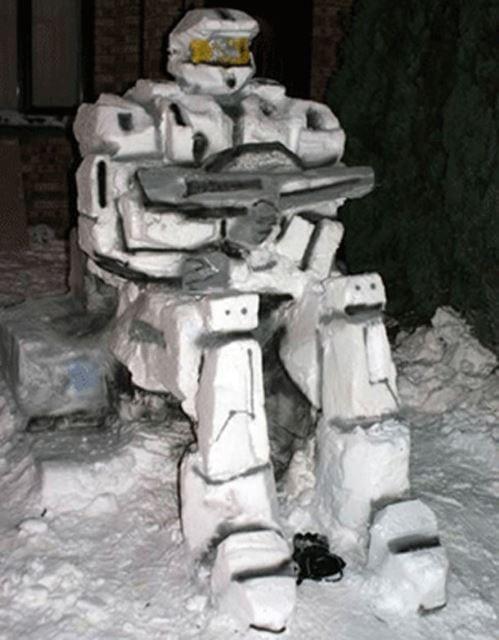 Robo Snow Cop