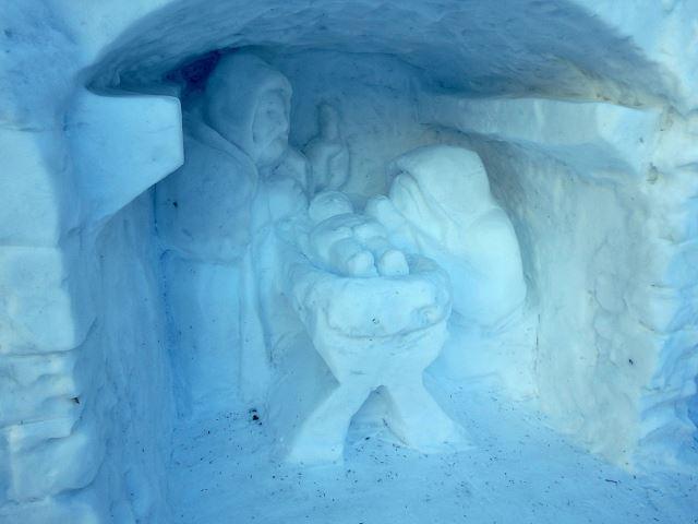 Snow Nativity