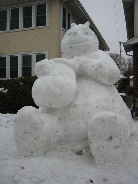 Snow Pooh
