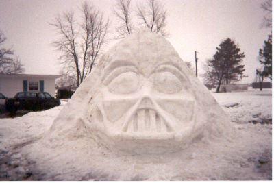 Snow Vader