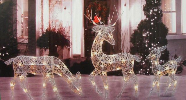 Glowing Reindeer