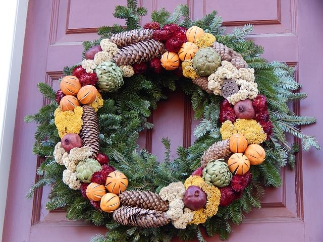 Gorgeous Holiday Wreath