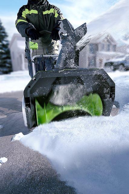 Greenworks Snow Thrower