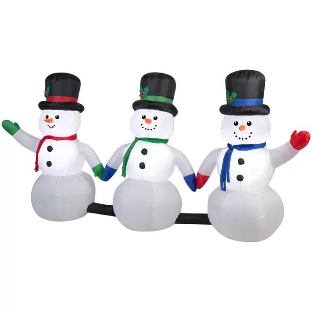 Light-Up Snowmen
