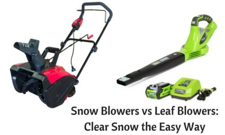 Snow Blowers vs Leaf Blowers: Clear Snow the Easy Way