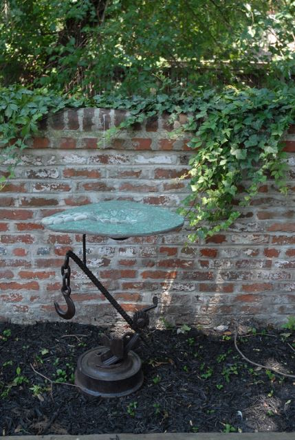Recycled Bird bath