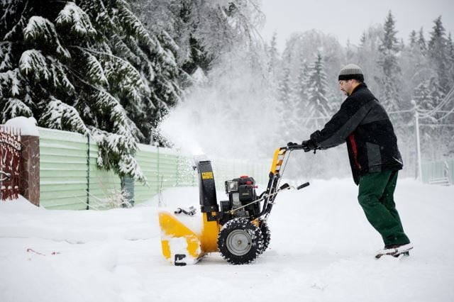 How Does Power Steering Work On A Snow Blower