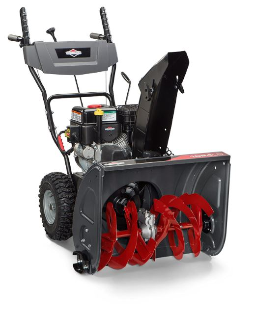 Briggs & Stratton 1696610 Dual-Stage Snow Thrower with 208cc Engine and Electric Start