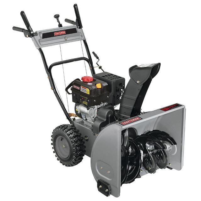 Craftsman 88172 24inch 179cc Dual-Stage Snowblower