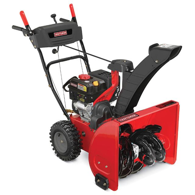 Craftsman 88173 24inch 208cc Dual-Stage Gas Snowblower