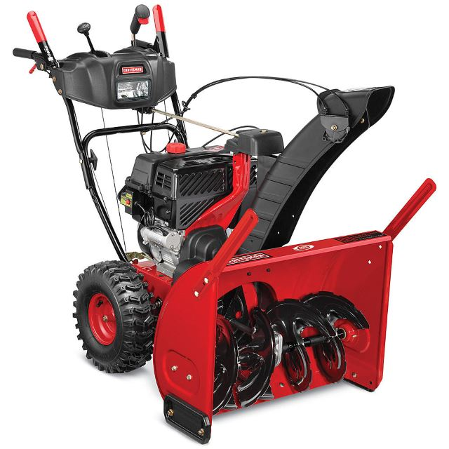Craftsman 88394 28inch 243cc Dual-Stage Snowblower with Quiet Engine