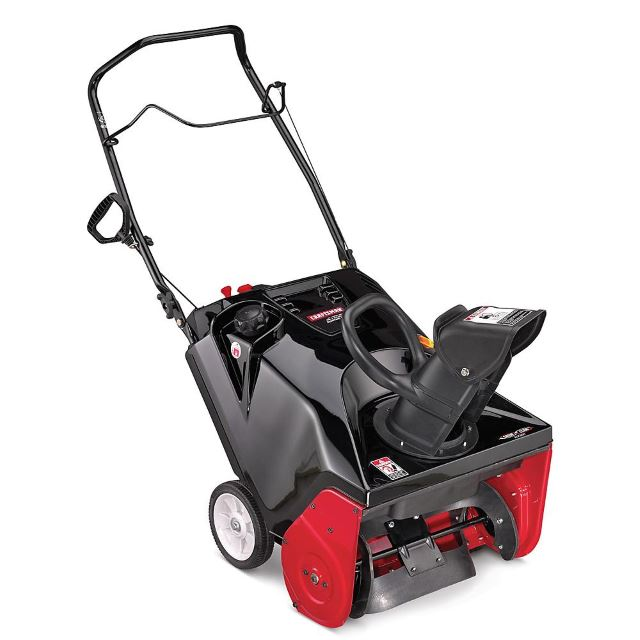 Craftsman 88780 21inch 179cc Single-Stage Snowblower w/ Electric Start