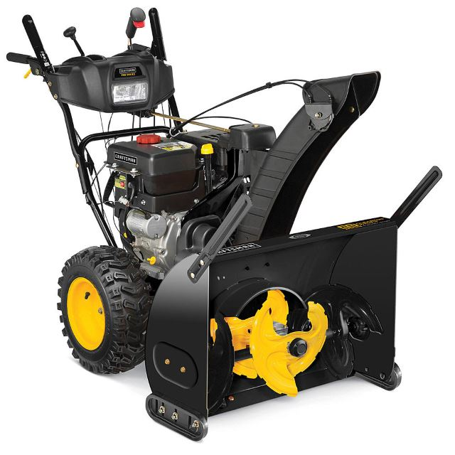 Craftsman 88874 28inch 357cc 3-Stage Snowblower with Power Steering