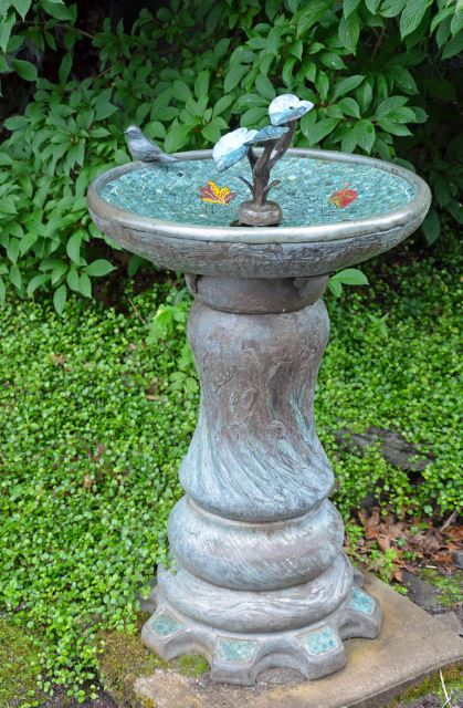 Decorative Garden Bird bath