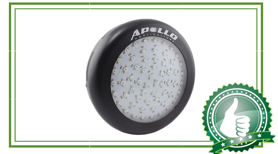 Featured Image - APOLLO HORTICULTURE GL60LED, 180 WATT GROW LIGHT REVIEW