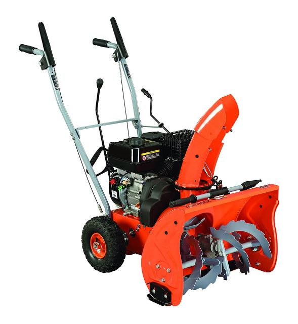 YARDMAX YB5765 Two-Stage Snow Blower, 6.5 hp, 196cc, 22%22