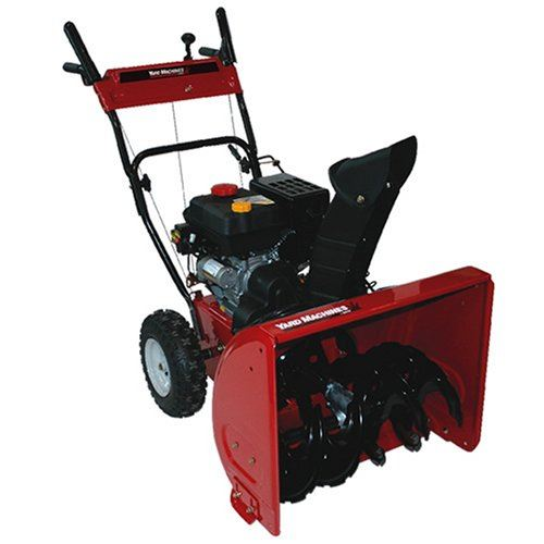 Yard Machines 24-Inch 179cc OHV 4-Cycle Gas Powered Two Stage Snow Thrower