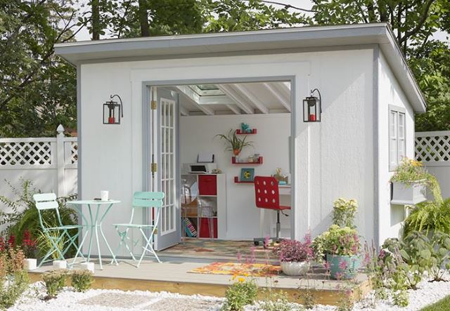 45 Garden Shed Ideas