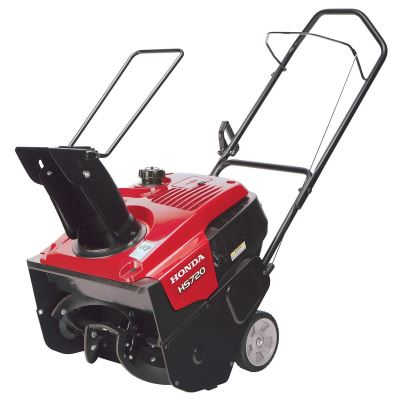 Honda Single Stage Snowblower Snow Thrower Single Stage 20 Inch Wide Hs-720-am