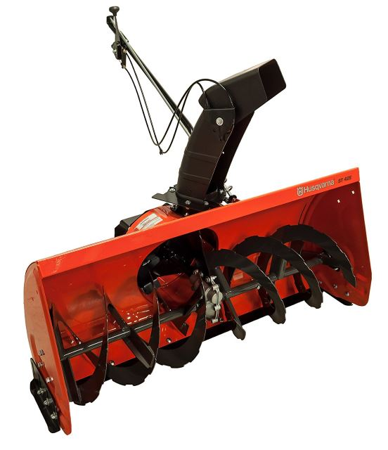 Husqvarna ST42E Snow Thrower Attachment with Electric Lift