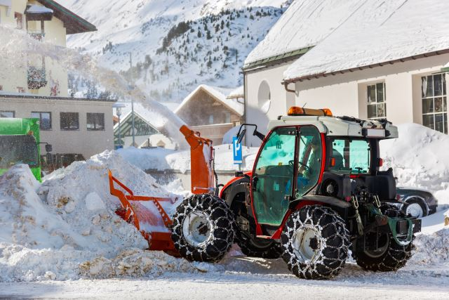 Snow Blower Tractor Attachment