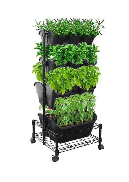 Wheeled Planter Box