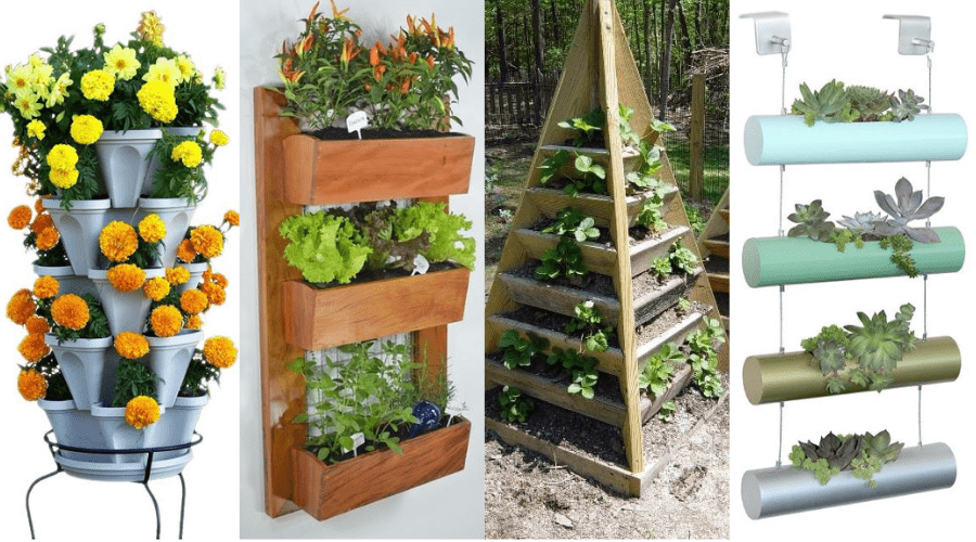 Vertical Garden Design Ideas Featured Image - BEST VERTICAL GARDENING IDEAS_ #27 IS GORGEOUS!