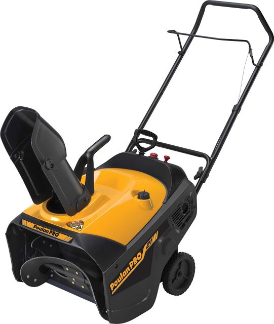Poulan Pro Electric Start Single Stage Snow Thrower