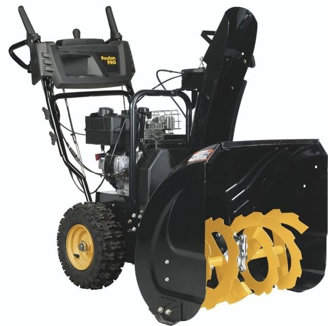 Poulan Pro PR241 Two-Stage Electric Start Snow Thrower