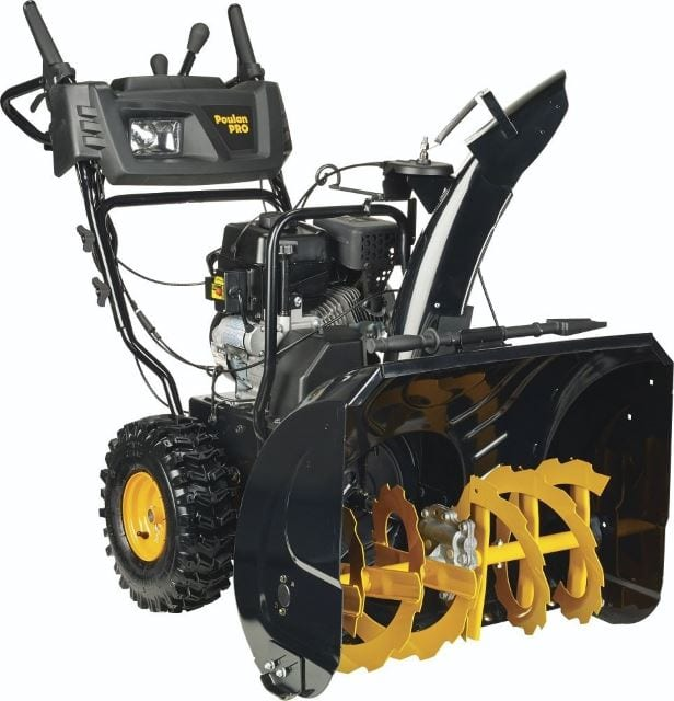 Poulan Pro PR271 Two-Stage Electric Start with Power Steering Snow Thrower