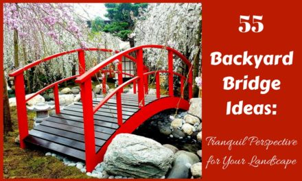 55 Backyard Bridge Ideas: Tranquil Perspective for Your Landscape