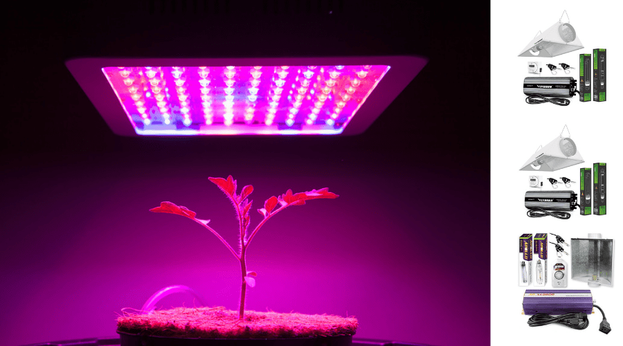 Featured Image - BEST HPS GROW LIGHT REVIEWS