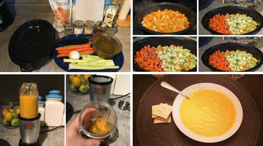 Featured Image - HOW TO MAKE EASY ROASTED BUTTERNUT SQUASH SOUP