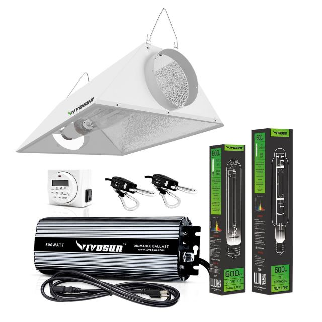 VIVOSUN 600 Watt HPS Grow Light Kit