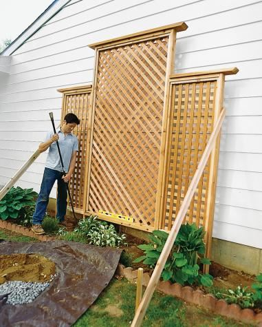 Large Wall Trellis