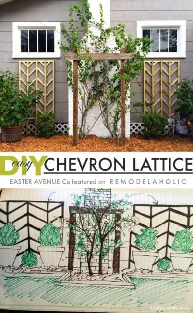 Chevron Lattice