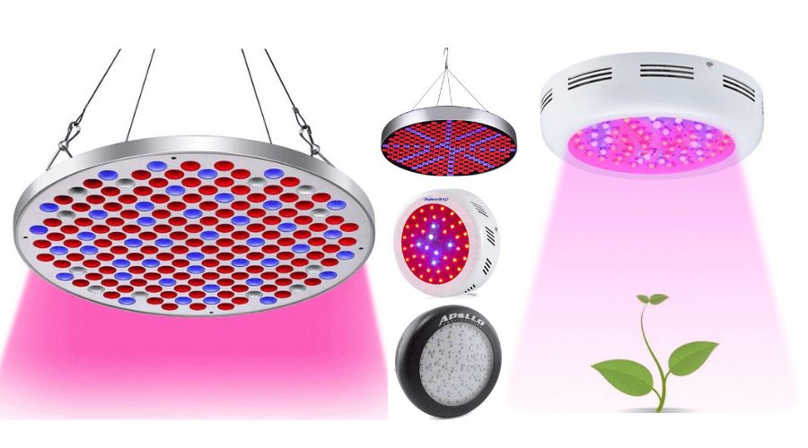 Featured Image - BEST UFO LED GROW LIGHT REVIEWS