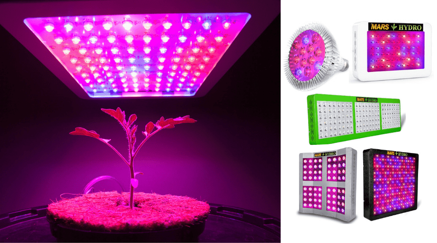 Featured Image - MARS HYDRO LED GROW LIGHT REVIEWS