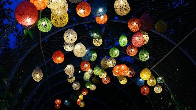 Twine Garden Lanterns