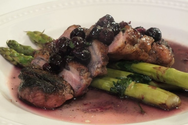Blueberry BBQ Duck