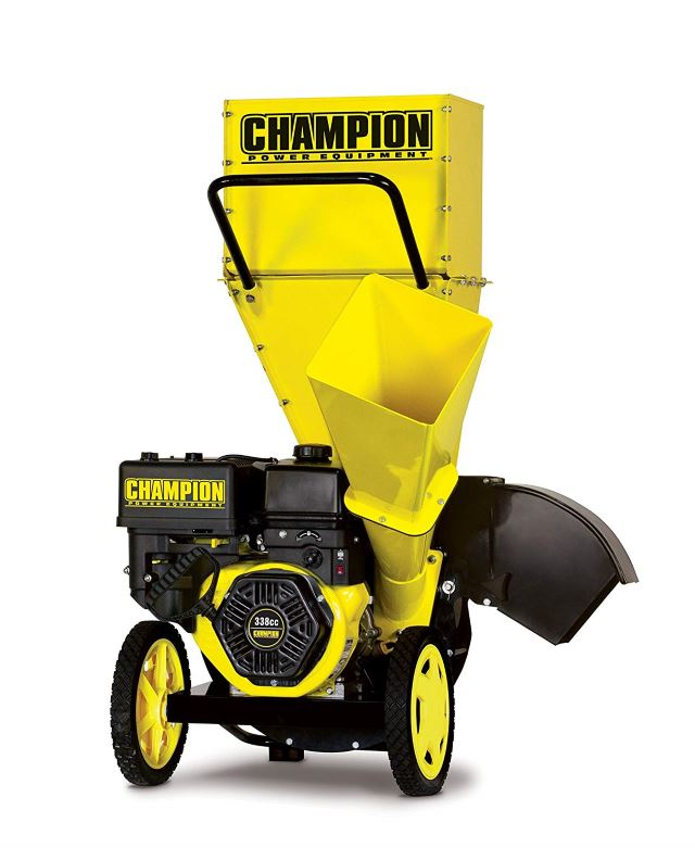 Champion 3-Inch Portable Chipper-Shredder