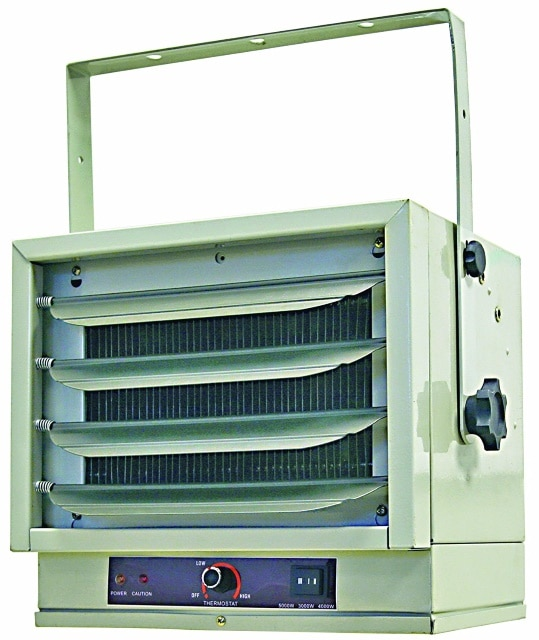Comfort Zone Industrial Steel Electric Heater