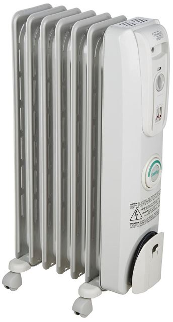 DeLonghi Safe Heat ComforTemp Portable Oil-Filled Radiator