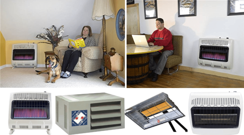 Featured Image - BEST GAS GARAGE HEATER COMPARISONS