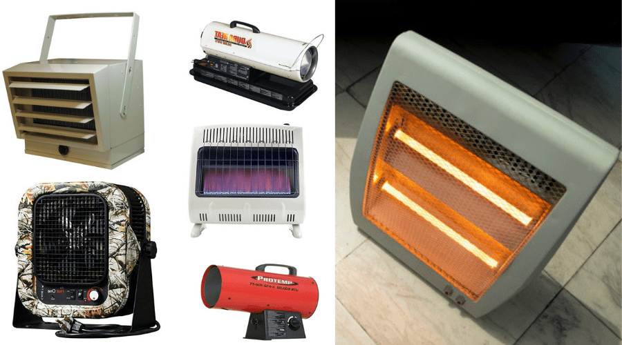 Featured Image - BEST PORTABLE GARAGE HEATER COMPARISONS