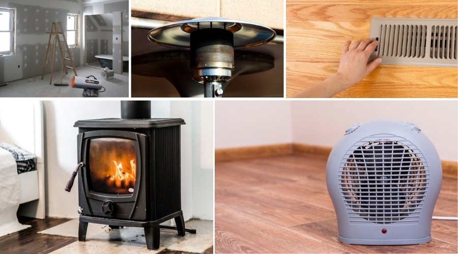 Featured Image - THE BEST WAYS TO HEAT A GARAGE AND MORE!